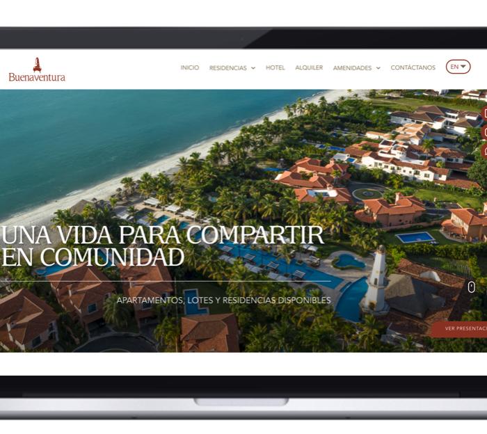 Discover the Buenaventura's new website